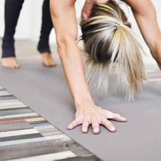 Love Generation ● Yoga Mat ● Fitness Mat ● Taupe