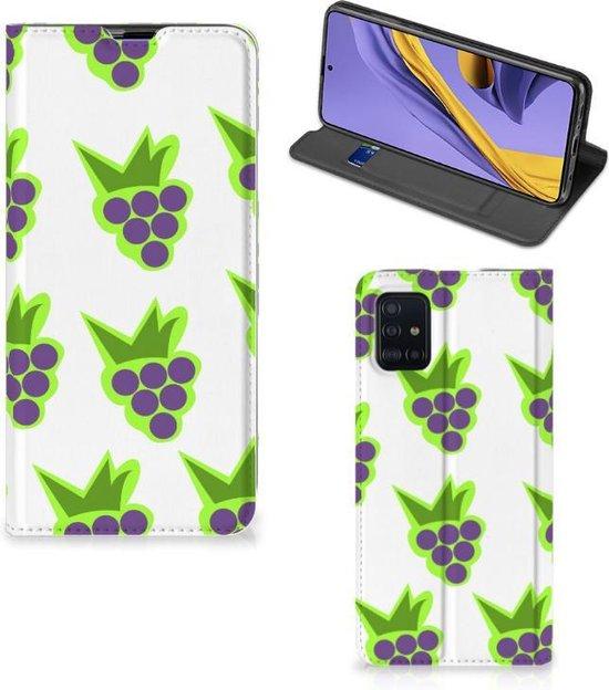Flip Style Cover Samsung A51 Druiven