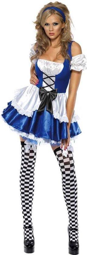 Fever Alice in Wonderland kostuum - Maatkeuze: Maat M