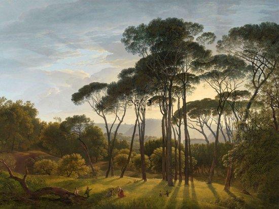 ESTAhome fotobehangpapier Italiaans landschap donkergroen - 158891