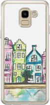 Samsung Galaxy J6 2018 siliconen hoesje - Amsterdam