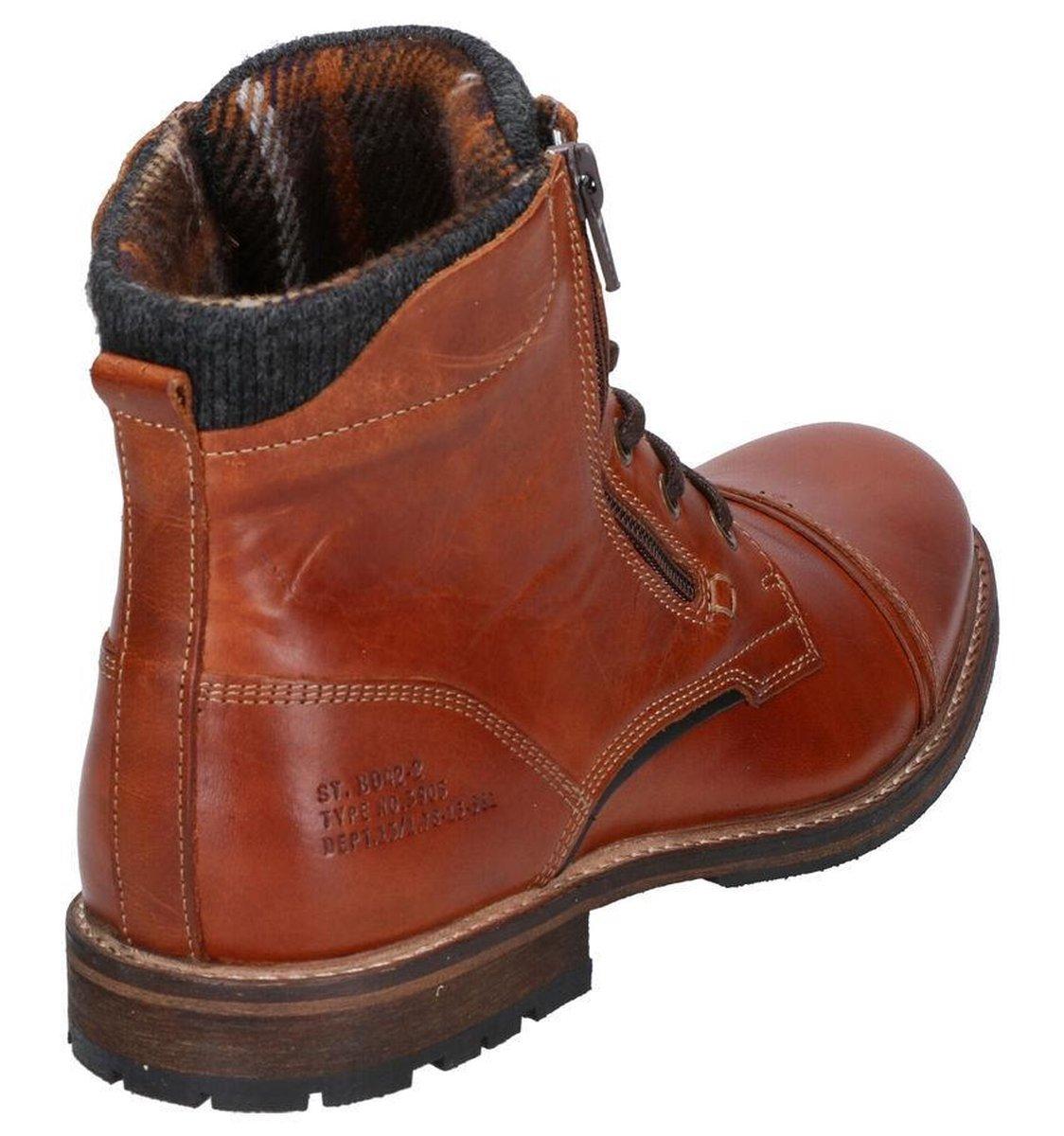Bullboxer Cognac Boots Heren 42 Laarzen