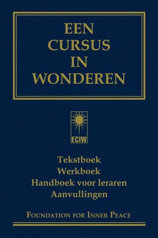 Boek cover Een cursus in wonderen van Foundation for Inner Peace (Hardcover)
