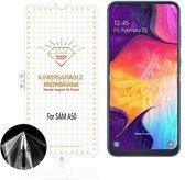 Samsung Galaxy A50 Diamond Film Folie screenprotector Full-screen | Fingerprint UnlockingTransparant/Clear - van Bixb