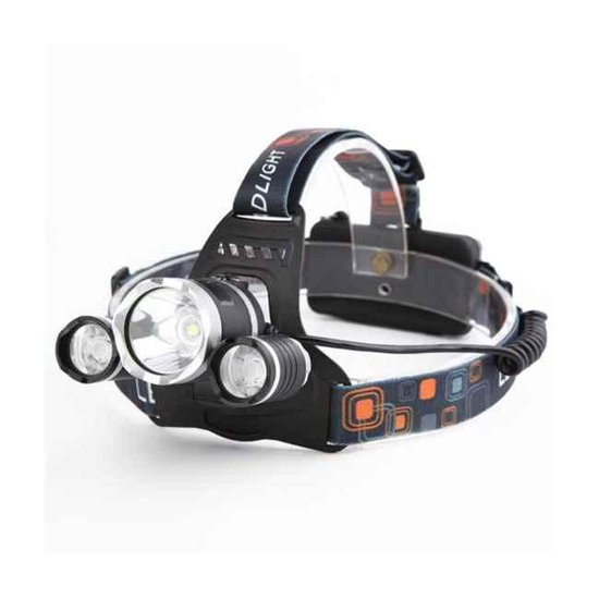 iBello LED Hoofdlamp - 5000 Lumen - Wit