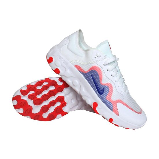 Nike Renew Lucent Sneakers Heren Wit/rood/blauw 3VrnQK