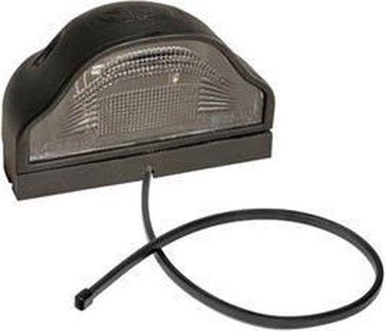 Verlichting aspock - Nummerplaatverlichting - Regpoint - 800mm - Zwart