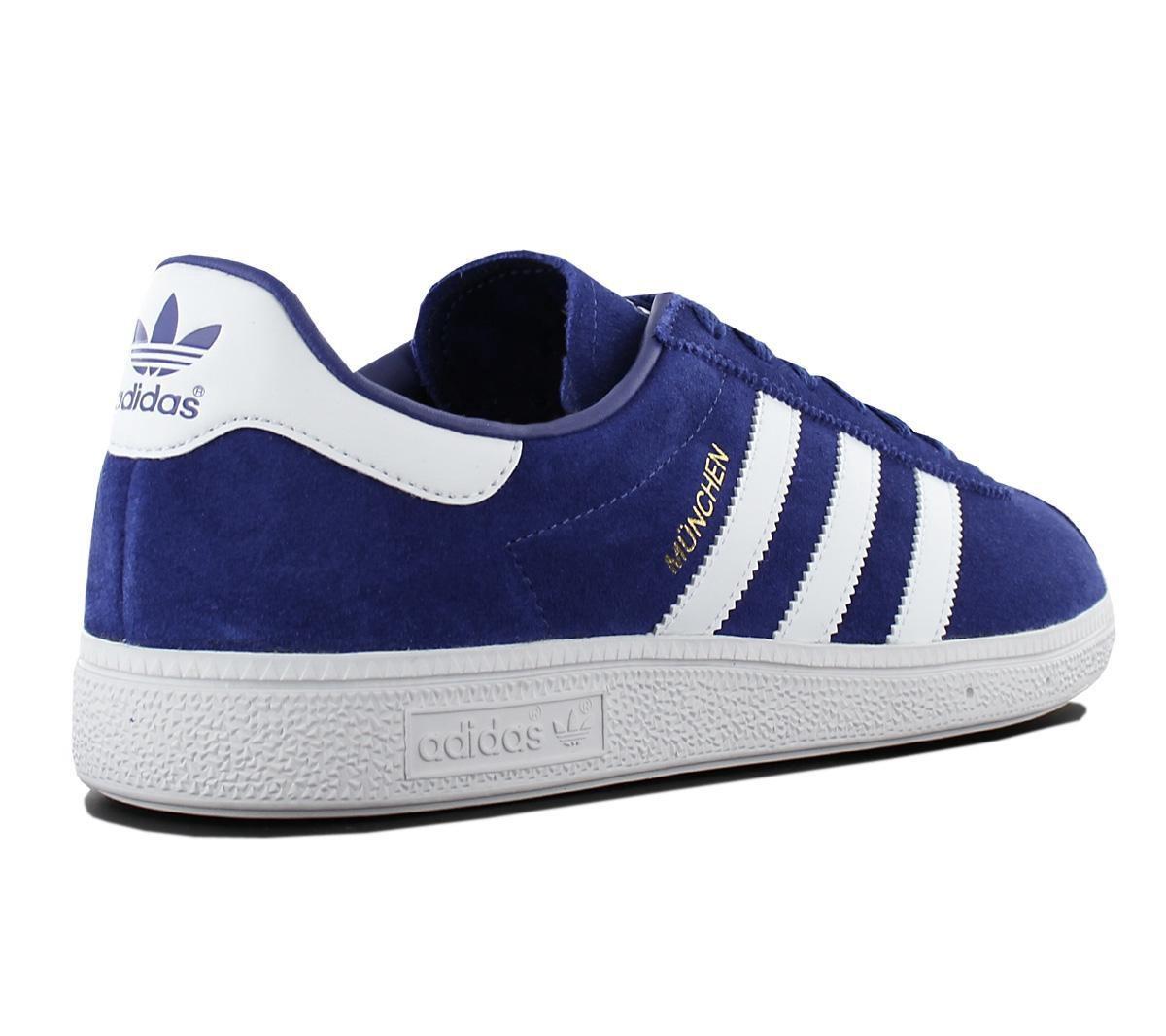 adidas Originals Munchen BY9787 Heren Sneaker Sportschoenen Schoenen Blauw Maat EU 40 23 UK 7