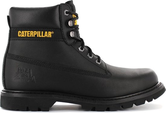 Caterpillar Colorado PW C44100-709 Heren Laarzen Boots Veterlaarzen Zwart - Maat EU 41 UK 7