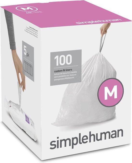 Simplehuman Code M Doos Afvalzakken 45 Liter - 100 zakken