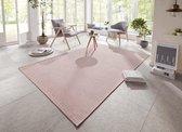 Binnen & buiten vloerkleed Millau Elle Decor - roze 80x150 cm