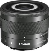 Canon EF-M 28mm f/3.5 IS STM Zwart