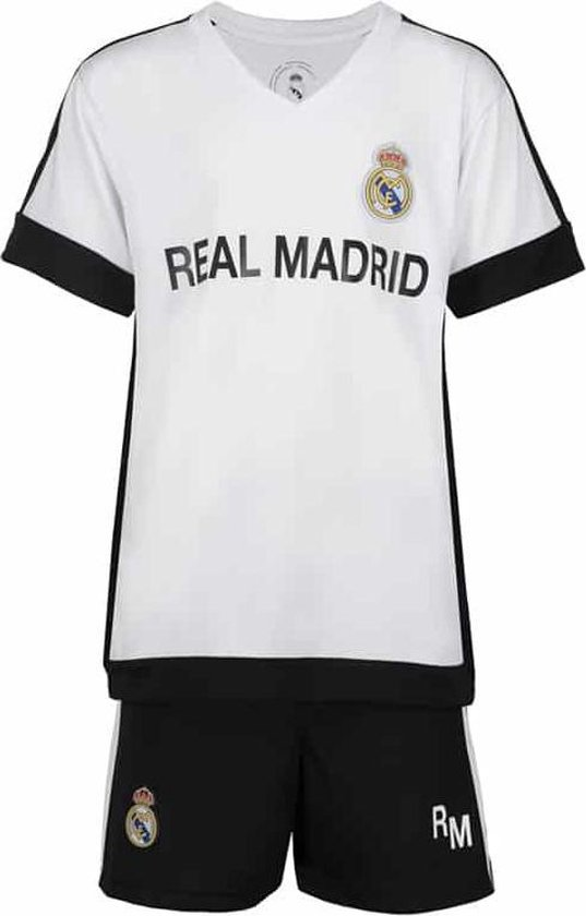 Real Madrid thuis voetbaltenue 17/18 - thuis tenue - Officieel Real Madrid fan product - 100% polyester - maat 152