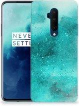 OnePlus 7T Pro Hoesje maken Painting Blue