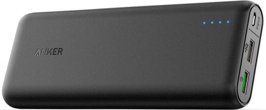 Afbeelding van Anker PowerCore speed powerbank 20.000 mAh - Quick Charge 3.0 - zwart