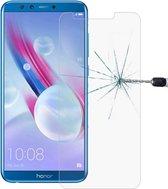 Let op type!! 9H 2.5D getemperd glas Film voor Huawei Honor 9 Lite