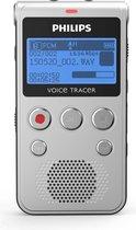 Philips Voice Tracer DVT1300 Intern geheugen Zwart, Zilver
