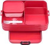 Mepal Bento Take a Break Lunchbox - large - Nordic Red