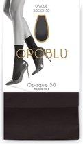 Oroblu Demi Bas Opaque Pantykousen Denier 50 - Moka - Maat one size