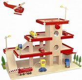 Afbeelding van Dudu Toys Garage Groot met Lift, rood