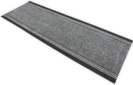 Tapijtkeuze Keukenloper Canberra 80x1000cm - Grijs