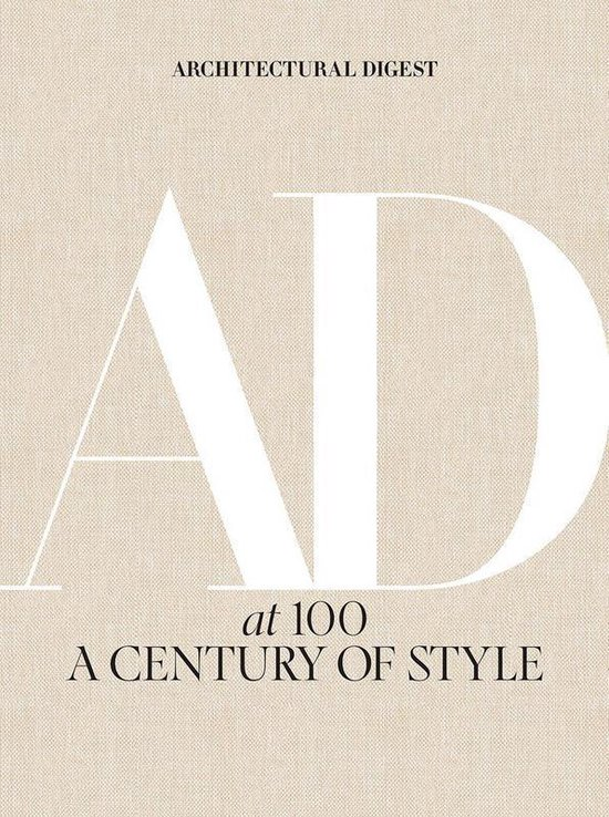Boek cover Architectural Digest at 100 van Architectural Digest (Hardcover)