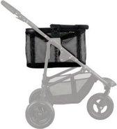Airbuggy multi basket hondenbuggy mesh zwart 48x30x30 cm