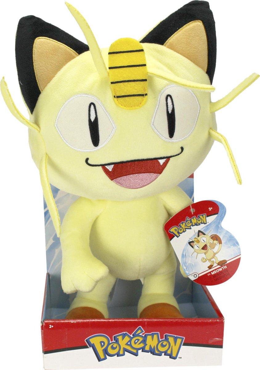 Pokemon Meowth Pluche Knuffel 30CM