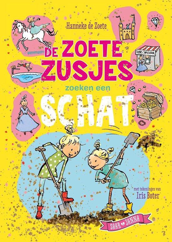 Boek cover De Zoete Zusjes zoeken een schat van Hanneke de Zoete (Onbekend)