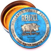 Reuzel Blue Strong Hold Pomade Haarwax - 113g