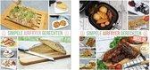 Airfryer Kookboek - Simpele Airfryer Gerechten deel 1 & deel 2 - Duopack