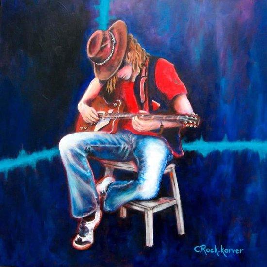 Blues by Corrie Rock - Korver