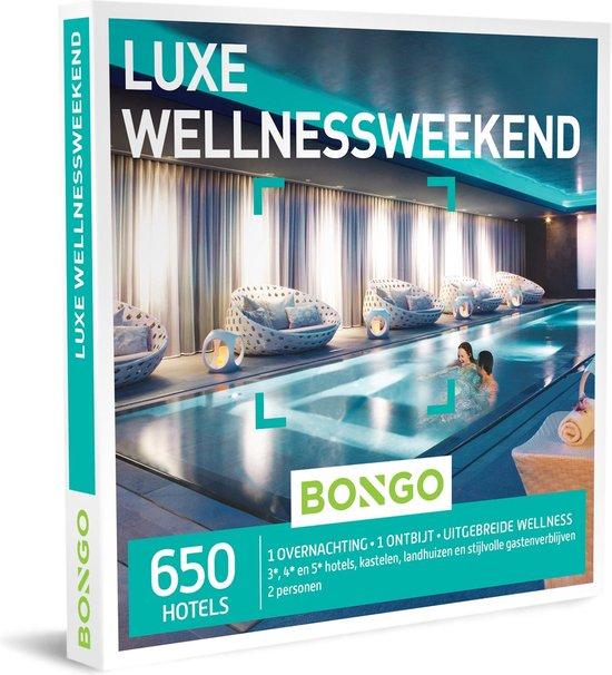 Bongo Bon - Luxe Wellnessweekend Cadeaubon - Cadeaukaart cadeau voor man of vrouw | 650 hotels met uitgebreide wellnessfaciliteiten