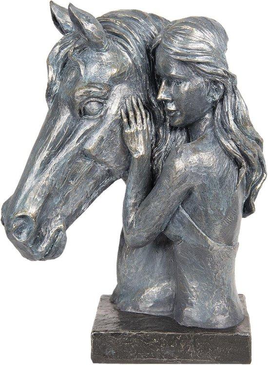 Bol Com Decoratie Paard 29 14 37 Cm Grijs Kunststof Paard Clayre Eef 6pr2692