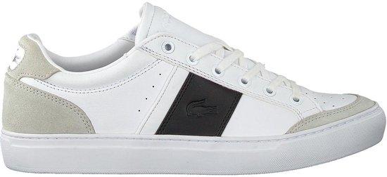 Lacoste Courtline 319 Heren Sneakers - Wit - Maat 45