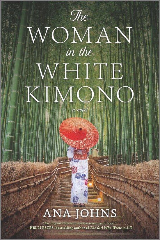 Boek cover The Woman in the White Kimono van Ana Johns (Onbekend)