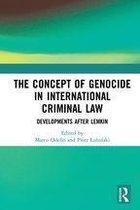 Boek cover The Concept of Genocide in International Criminal Law van