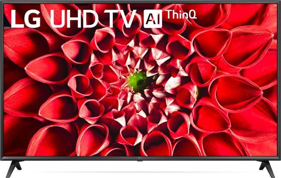 LG 65UN71000LB tv 165,1 cm (65'') 4K Ultra HD Smart TV Wi-Fi Zwart