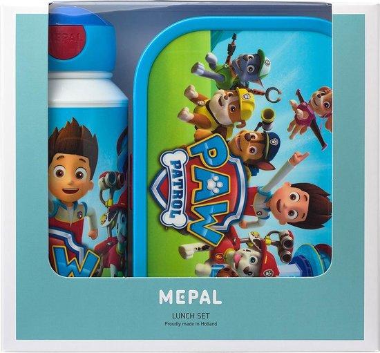Mepal Campus lunchset - drinkfles en lunchbox - Paw Patrol