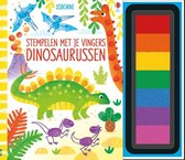 Stempelen met je vingers Dinosaurussen