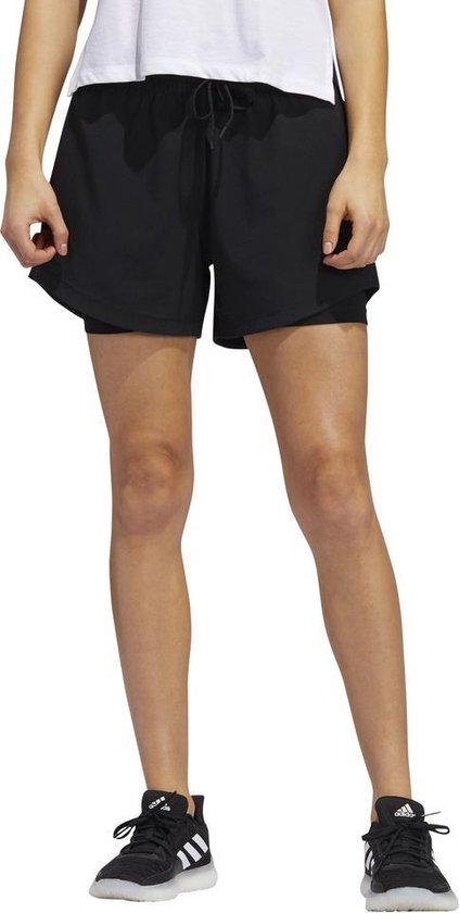 adidas 2 IN 1 Woven short dames zwart