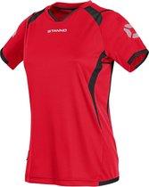 Stanno Olympico Shirt Ladies k.m. Sportshirt - Rood - Maat S