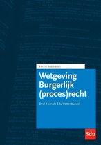 Educatieve wettenverzameling  -   Sdu Wettenbundel Burgerlijk (proces)recht. Editie 2020-2021
