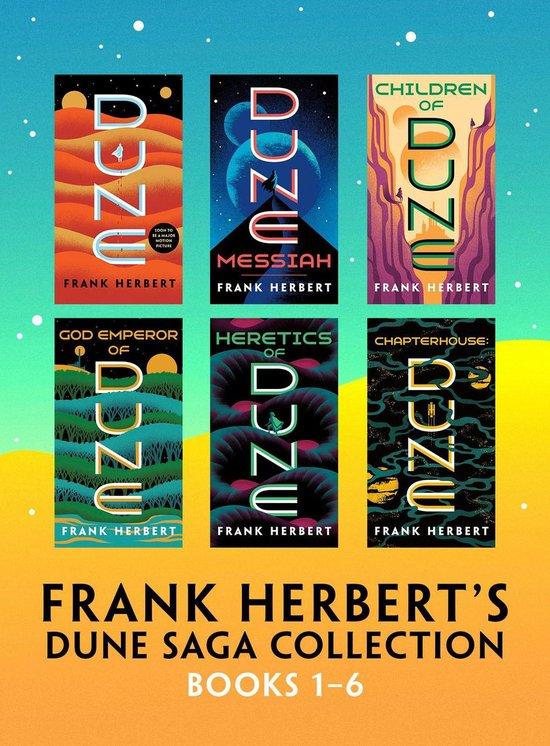Boek cover Frank Herberts Dune Saga Collection: Books 1 - 6 van Frank Herbert (Onbekend)