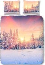 Good Morning 5700-P Snow - dekbedovertrek - tweepersoons - 200x200/220 cm  - katoen - multi