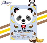 7Th Heaven - Face Food Panda Face Mask Moisturizing Mask In Banana & Coconut Plough 1Pcs