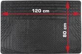 DINO 130025 Boot mat Compatible with (car model) Universal (L x W) 80 cm x 120 cm Black