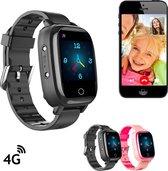 Wonlex GPSHorlogeKids SENSE – GPS Horloge Kind – 4G videobellen - Kinderhorloge - Smartwatch kinderen - GPS Tracker kind - Thermometer Hartslagmeter Bloeddrukmeter – Camera - Zwart [IP67 waterdicht]