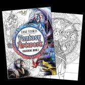 Eastgate Kleurboek Anne Stokes 'Fantasy Art' 2 Multicolours