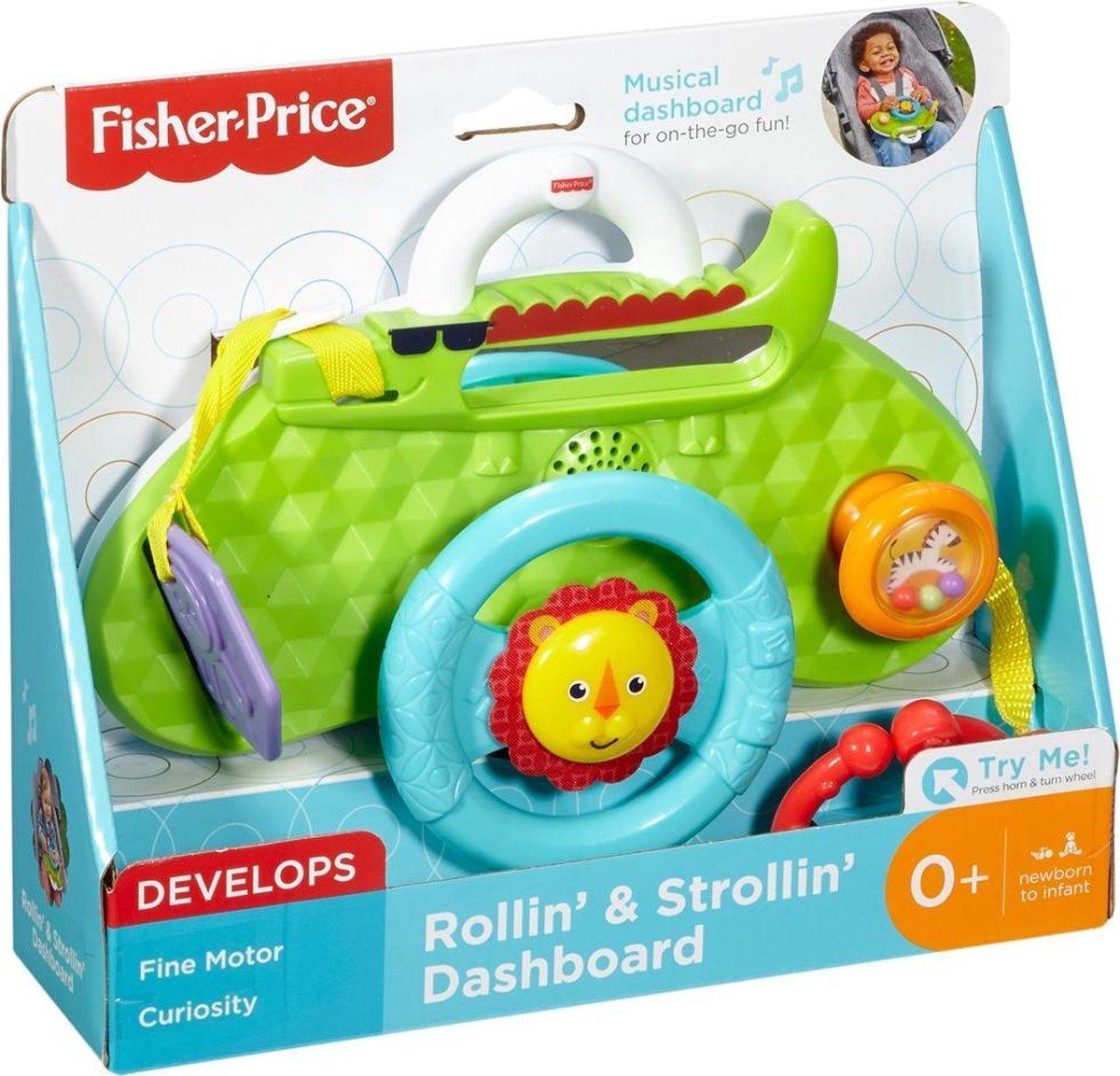 Fisher Price Rijden en Wandelen Dashboard met Geluid